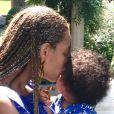 Beyoncé et sa fille Blue Ivy.