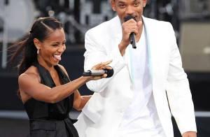 PHOTOS : Will Smith et sa femme, animateurs survoltés du concert pour Mandela !