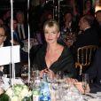 Nonce Paolini, Catherine Falgayrac et Raymond Domenech au premier dîner de Gala de L'étoile de Martin au Mini Palais à Paris, le 29 Novembre 2012.
