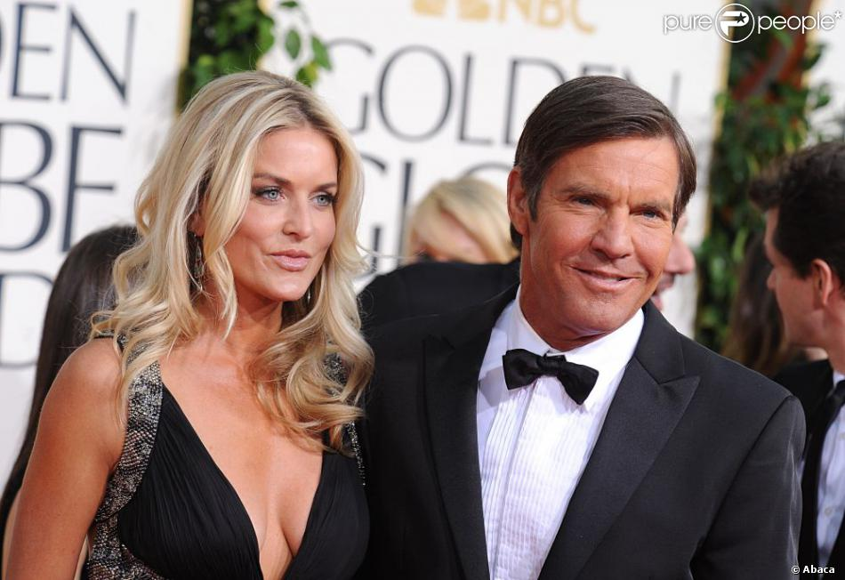 Dennis Quaid couple