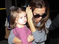 Victoria Beckham : Look en berne avec Harper, elles ratent le sacre de David