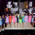 Les quinze finalistes de la finale internationale du concours Elite Model Look, le 1er décembre 2012