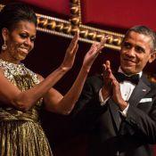 Barack et Michelle Obama, amoureux entourés de couples pour une glorieuse nuit