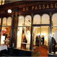 """Présentation à la Galerie du Passage du documentaire """"Une jeunesse Tunisienne"""" de Farida Khelfa et vernissage de l'exposition d'Emir Ben Ayed, à Paris le 3 Decembre 2012."""