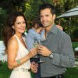 David Charvet et Brooke Burke en mai 2012 à Los Angeles