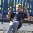 Le fils aîné de Gwen Stefani, Kingston. Los Angeles, le 8 décembre 2012.