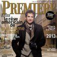 Guillaume Canet, en couverture du magazine Première de décembre 2012-janvier 2013