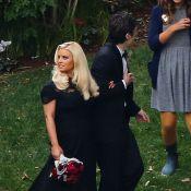 Jessica Simpson et sa soeur Ashlee, superbes au mariage de sa meilleure amie