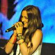Lea Castel au concert caritatif pour l'association Les Petits Anges de la vie au VIP Room de Jean-Roch à Paris le 11 Juin 2012.