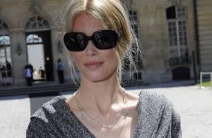 VIDEO + PHOTOS : Claudia Schiffer en plein shopping parisien