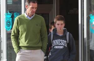 Iñaki Urdangarin, amaigri avant le procès, vibre grâce à son fils Juan Valentin