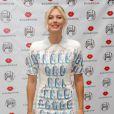 Maria Sharapova le 20 août 2012 à New York lors du lancement de sa marque de bonbons Sugarpova