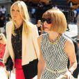 Maria Sharapova et Anna Wintour à New York le 9 septembre 2012