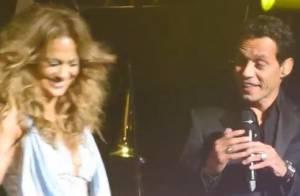 Jennifer Lopez : Marc Anthony et ses enfants sur scène pour son dernier show !