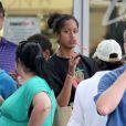 Exclusif - La fille aînée de Barack et Michelle Obama, Malia (14 ans), en vacances avec des proches sur l'île de Maui à Hawaï. Le 24 décembre 2012.