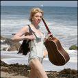 Courtney Love en vacances à Malibu