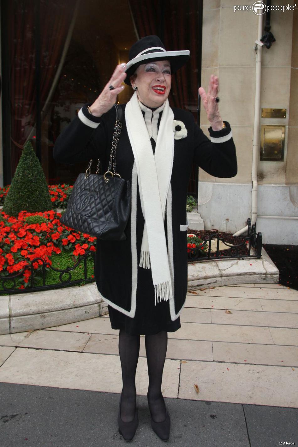 Geneviève de Fontenay en septembre 2012 à Paris
