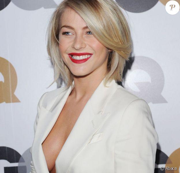 Julianne Hough sublime et toute en décolleté lors des GQ Men Of The Year au Chateau Marmont de Beverly Hills, le 13 novembre 2012.