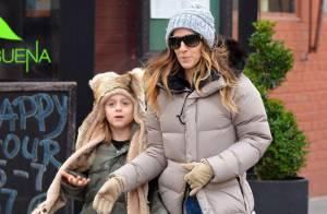 Sarah Jessica Parker : Maman du petit ours James avant le retour dans Glee