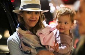 Jessica Alba : Retour à la réalité après ses belles vacances en famille