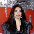 Caterina Murino, sublime et radieuse pour l'avant-première parisienne du film Django Unchained au Grand Rex, le 7 janvier 2013.