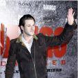 Gaspard Ulliel salue les fans lors de l'avant-première parisienne du film Django Unchained au Grand Rex, le 7 janvier 2013.