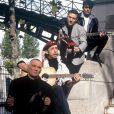 Les Innocents à Paris en 1992. Jipé Nataf et Jean-Christophe Urbain ont décidé de faire renaître en 2013 le groupe dissout en 2000.
