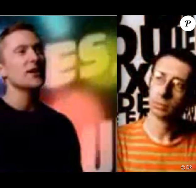 Jipé Nataf et Jean-Christophe Urbain dans le clip Colore, des Innocents