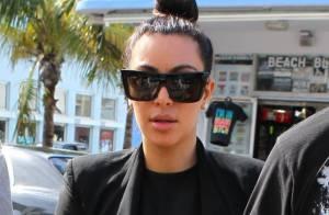 Kim Kardashian : Enceinte, elle soigne son look et s'offre un home à 11 millions