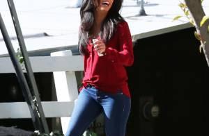 Eva Longoria : Fous rires dans les rues de Santa Monica pour la bomba latina