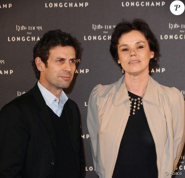 Claire Nebout et Frédéric Taddeï en janvier 2010 à Paris