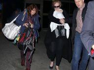 Adele et son fils : Une arrivée mouvementée dans la Cité des anges