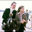 Teri Shields et sa mère Brooke à Cannes en 1978