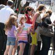 Brooke Shields au marché aux puces de West Village, à Los Angeles, le 20 mai 2012.