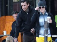 Pink : Promenade familiale avec sa jolie petite Willow et son mari