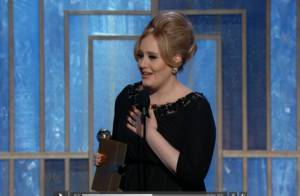 Golden Globes 2013 - Adele : Émue et drôle, elle dédie son prix à son fils