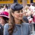 Kate Middleton chaussée de souliers L.K. Bennett lors de son passage à Nottingham pour le jubilé de diamant de la reine Elizabeth II. Le 13 juin 2012.