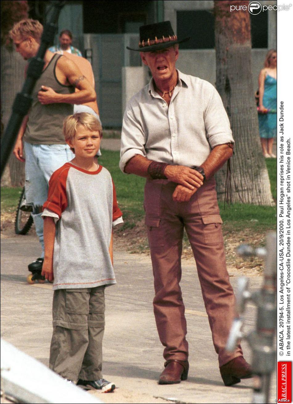 Пол хоган и его дети фото