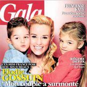 Elodie Gossuin et Bertrand Lacherie présentent leurs jumeaux Rose et Jules