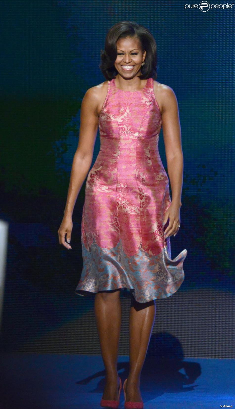Michelle Obama à Charlotte, le 4 septembre 2012.