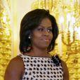 Michelle Obama à Moscou, le 7 juillet 2009.