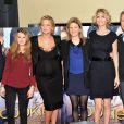Scali Delpeyrat, Lolita Offenstein, Virginie Efira, la réalisatrice Lea Fazer, Alice Taglioni et Philippe Lefebvre à l'avant-première de  Cookie  à Paris le 21 Janvier 2013.