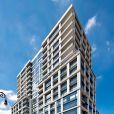 Immeuble qui abrite l'appartement de Ricky Martin, situé dans l'East Side à New York.