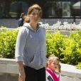 """""""Mirka Federer et ses filles Myla Rose et Charlene Riva à Melbourne le 27 janvier 2013"""""""