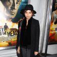 Zoë Kravitz était invitée à la première de Du plomb dans la tête (Bullet to the Head) à l'AMC Lincoln Square de New York, le 29 janvier 2013.