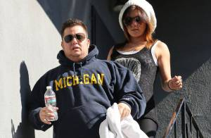 Chaz Bono : Le fils obèse de Cher continue le sport et s'affiche avec une femme