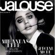 Miranda Kerr photographiée par Sebastian Mader et habillée en Saint Laurent Paris pour le numéro de février 2013 du magazine Jalouse.