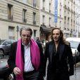 John Galliano et son avocat Jean-Marc Coblence arrivent au conseil des prud'hommes à Paris, le 4 février 2013.