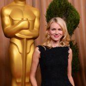 Oscars 2013 : Naomi Watts et Anne Hathaway divines en noir pour un dîner étoilé