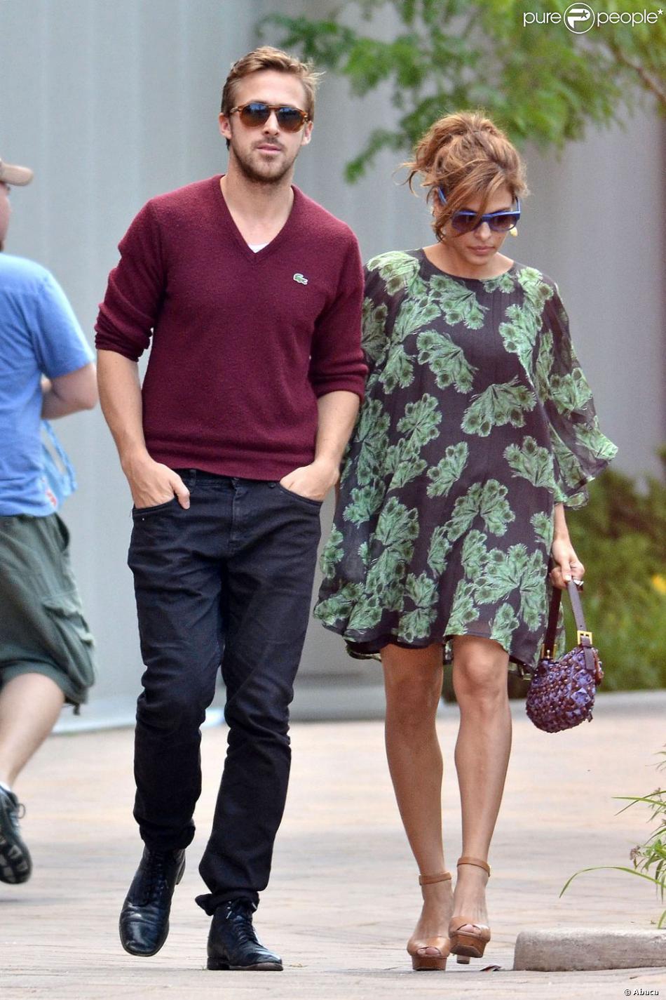 Ryan Gosling et Eva Mendes Ryan Gosling Eva Mendes